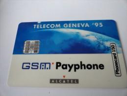 VERY RARE : GSM PAYPHONE ALCATEL SPECIMEN (TELECOM GENEVA) - Suisse