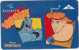 BELGIUM - Disney, Hercules 8/, CN : 709K, tirage 50000, used