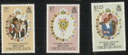 British Virgin Islands 1981 Royal Wedding MNH - British Virgin Islands
