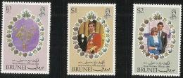 Brunei 1981 Royal Wedding MNH - Brunei (1984-...)