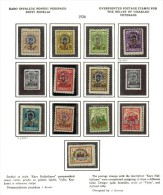 3582. Lithuania #B16-24,B27-29 MLH OG 1926