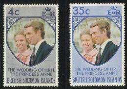 Solomon Islands 1973 Royal Wedding MNH - Salomon (Iles 1978-...)