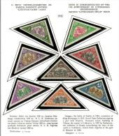 3600. Lithuania #C55-62 Comp. Set  Perf.14 1932 MLH OG