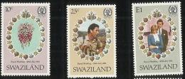 Swaziland  1981Royal Wedding MNH - Swaziland (1968-...)