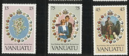 Vanuatu 1981Royal Wedding MNH - Vanuatu (1980-...)