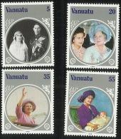 Vanuatu 1985 Queen Mother Birthday  MNH - Vanuatu (1980-...)