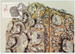 Maximum Card Tresor Reel Portugal Bijoux Jewelery Tabac Boîte Tobacco Box 1992 (2 Scans) - Maximum Cards & Covers