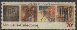 New Caledonia 1999 Ratification Of Noumea Accord MNH - New Caledonia