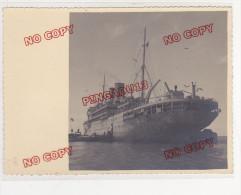 Messageries Maritimes Paquebot Explorateur Grandidier Madagascar Majunga Mars 1940 - Boats