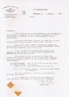1960 E. MESRIE & SONS LTD YARN MERCHANTS AND EXPORTERS 23 CUMBERLAND STREET MANCHESTER - Royaume-Uni