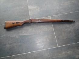 Bois Fusil Mauser 98K Ww2 - Armes Neutralisées