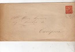 1893   LETTERA CON ANNULLO SORIANO NEL CIMINO  ROMA - 1878-00 Umberto I