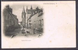 CHÂTILLON - COLIGNY . Eglise . - Chatillon Coligny