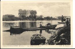 49 CHALONNES SUR LOIRE -  Les Bords De La Loire (bateau Plate )   143 - Chalonnes Sur Loire