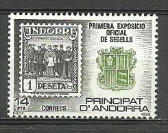 ANDORRA CORREO ESPAÑOL C. M. ABAD Nº 152 ESTOS SELLOS O SIMILARES SIN FIJASELLOS ** - Nuevos