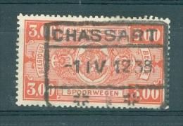 """BELGIE - OBP Nr TR 154 - Cachet """"CHASSART"""" - (ref. VL-313) - Bahnwesen"""