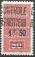 ALGERIE COLIS POST N° 24 NEUF** TTB - Algérie (1924-1962)