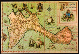 Landkarte Insel Formentera - Nicht Gelaufen - Landkarten