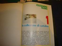 COLLEZIONISMO ITALIANO Opera In Dispense In Tre Volumi Rilegati Di 500 Pagine Ciascuno Inerente Oggetti Da Collezione - Non Classificati