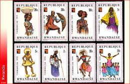 Rwanda 0704/11*  Folklore et costumes   H
