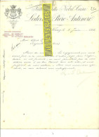 Italie - FIRENZE - Facture Ludovico E Piero ANTINORI – 1912 - REF 132 - Italy