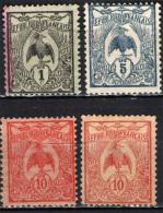 NUOVA CALEDONIA - 1905 - UCCELLO CAGU - SIMBOLO DELLA NUOVA CALEDONIA - Gebruikt