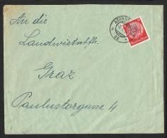 """Bahnpost   """"Aspang - Graz  Nr. 26""""   1939 - Austria"""
