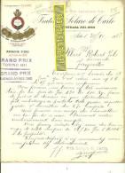 Italie - ASTI - Facture Fratelli Solaro Di CARLO - Vins – 1913 - REF 132 - Italie