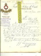 Italie - ASTI - Facture Fratelli Solaro Di CARLO - Vins – 1914 - REF 132 - Italia