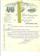 Espagne - IRUN - Facture Juan YRURETAGOYENA - Transports Internationaux – 1922 - REF 132 - Italia