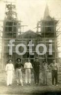 1931 REAL PHOTO POSTCARD IGREJA MATRIZ CAMPO GRANDE MS MINAS GERAIS BRASIL BRAZIL CARTE POSTALE POSTCARD - São Paulo