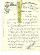 Espagne - IRUN - Facture Gil RODRIGO - Commission Et Transit – 1914 - REF 132 - Italia