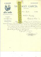 Espagne - MADRID - Facture SANTIAGO GARCIA - Optique – 1912 - REF 132 - Italia