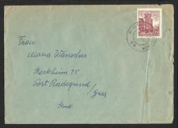 "Bahnpost   ""St. Valentin - Krems/D. - Wien  Nr. 26""   1963 - Austria"