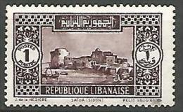 G-LIBAN N� 134 NEUF*