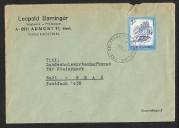 "Bahnpost   ""Selzthal - Kleinreifling  Nr. 892""   1977 - Austria"