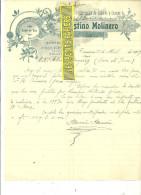 Espagne - TARAZONA - Facture Faustino MOLINERO - Quincaillerie - Mercerie – 1907 - REF 132 - Italie