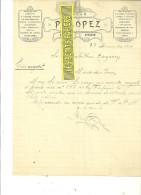 Espagne - VITORIA - Facture P. LOPEZ - Bazar – 1909 - REF 132 - Italia