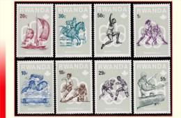 Rwanda 0737/44* Pre Olympiques Montreal H