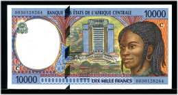 CENTRAL AFRICAN STATE EQUATORIAL GUINEA 10000 2000 SHIP Unc - Equatoriaal-Guinea