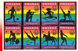 Rwanda 0761/68*  Jeux Olympiques de Montreal  H