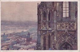 PC Prague Praha - Na Severni Vezi Domu - A La Tour Du Nord Du Dôme - 1921 (9471) - Tschechische Republik