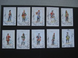 Cartes Uniformes De Dragon 1700-1895 - Documents
