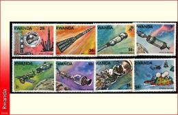Rwanda 0773/80*  Apollo-Soyouz  H