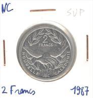 2 Francs Nouvelle Calédonie / New Caledonia 1987 SUP - Nouvelle-Calédonie