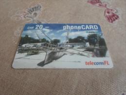 SWITSERLAND - nice prepaid phonecard