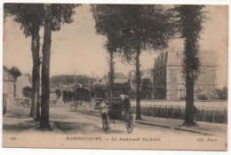 78  HARDRICOURT - Le Boulevard Michelet - Hardricourt