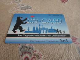 GERMANY - RARE Private Phonecard Berlin Bear - Deutschland