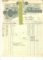 Belgique - BRUXELLES - Facture L. EECKELAERS - Fabrique De Savons De Toilette Et De Parfumerie – 1910 - REF 132 - Italia
