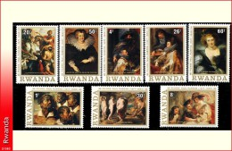 Rwanda 0821/28*  Rubens  H